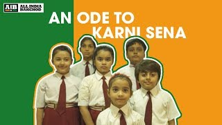 This satirical ode to the Karni Sena in a video featuring children is disturbingly accurate