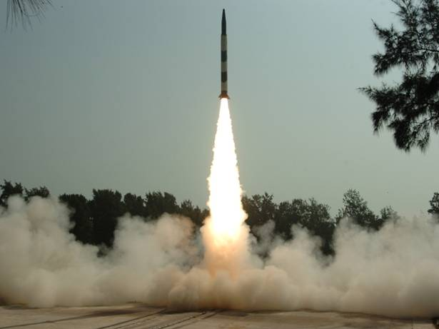 Agni-I missile with nuclear weapon carrying capability flight-tested successfully