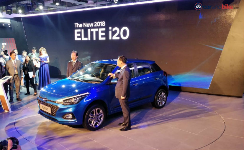 Auto Expo 2018: Hyundai i20 Facelift Launched; Prices Start At  5.34 Lakh