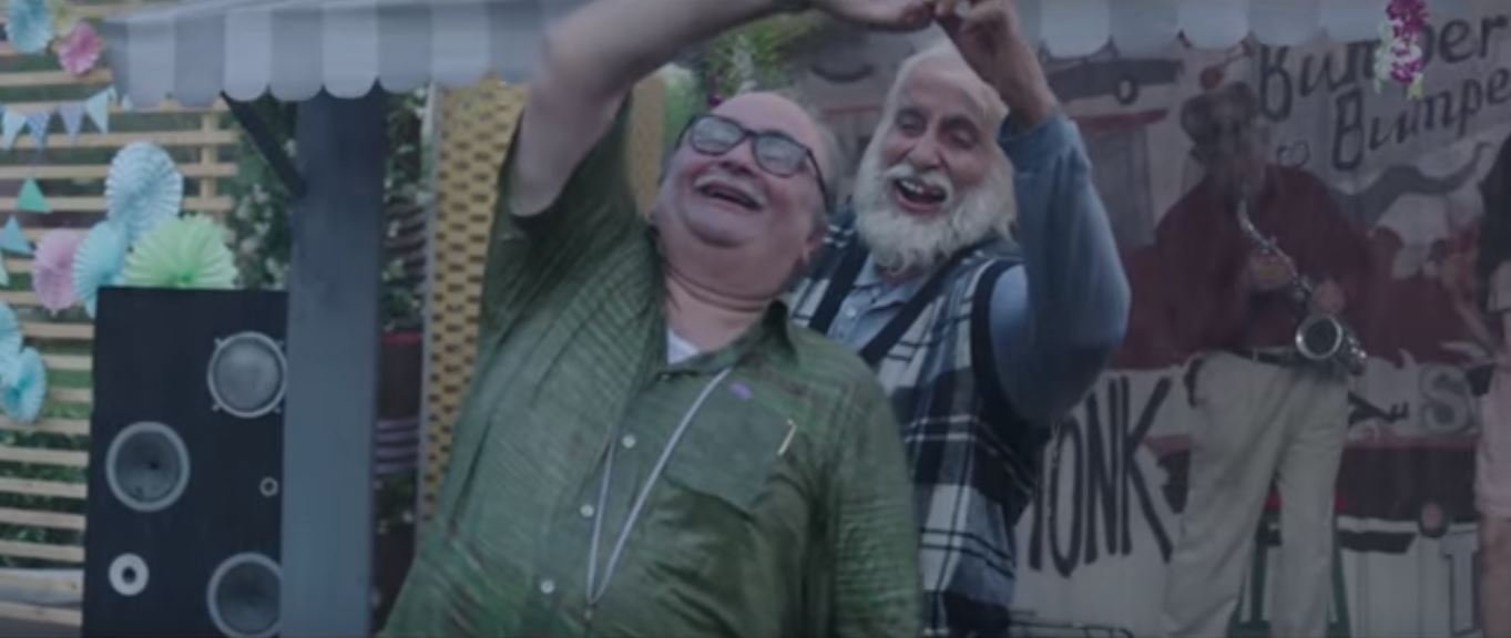 Big B Plays Rishi Kapoor's 102-Year-Old Dad In This Movie & The Teaser Will Warm Your Hearts