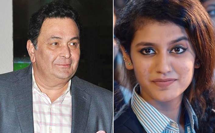 "Priya Varrier's Wink Made Rishi Kapoor Say: ""Why You Didn't Come In My Time?"""