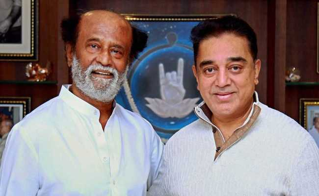 """Our Styles Are Different,"" Says Rajinikanth After Meeting Kamal Haasan"