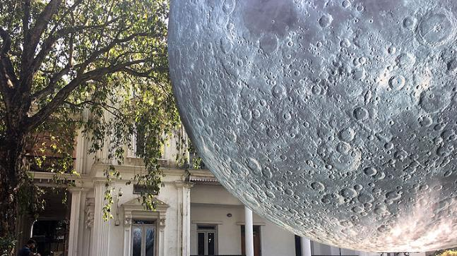 Museum of the Moon: Huge 23-feet-wide replica of Earth