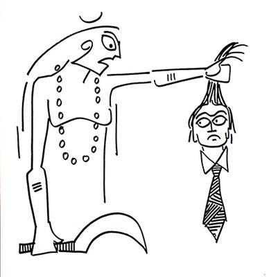 Beheading Brahma