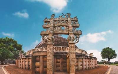 The Road to Enlightenment Leads to Sanchi