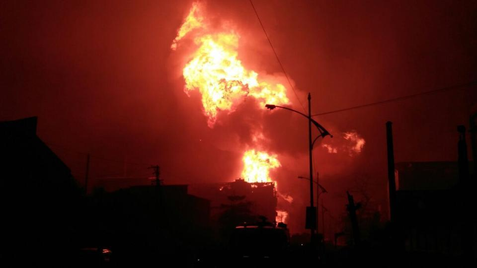 Three dead as 40 blasts rip through chemical factory near Mumbai, tremors felt 12km away