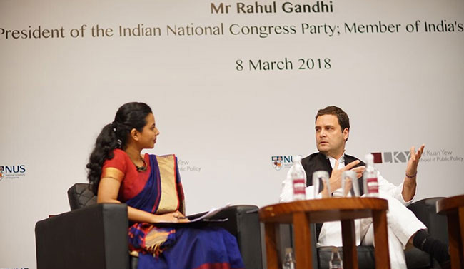 Rahul Gandhi, Grilled In Singapore, Says: