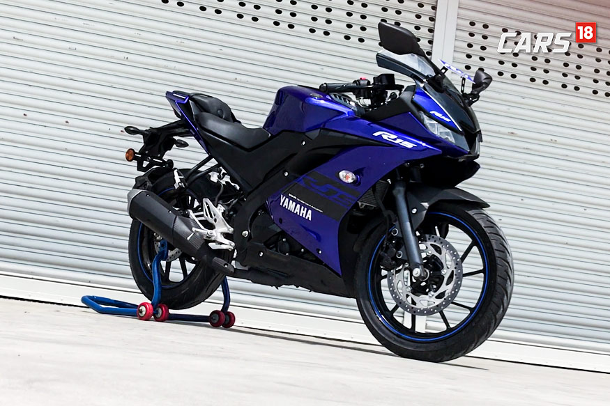 2018 Yamaha YZF-R15 V3.0 First Ride Review - Watch Video