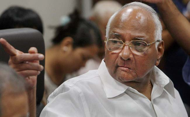 Wish Someone Warned Me Against Tobacco 40 Years Ago: Sharad Pawar