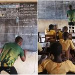 Indian Firm Gifts Computers to Ghana Teacher Who Used Blackboard to Teach MS Word!