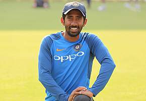 Wriddhiman Saha hits 6 sixes in an over; 20-ball ton