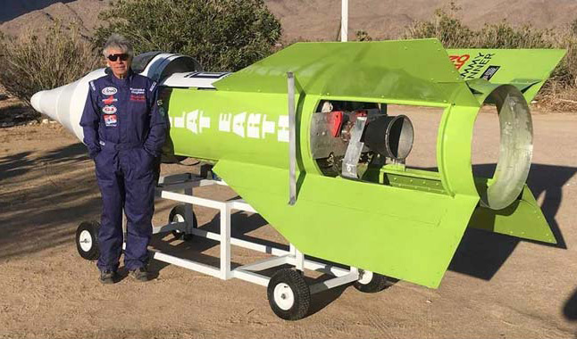 Amateur Rocket-Maker Finally Launches Himself Off Earth - Now To Prove It