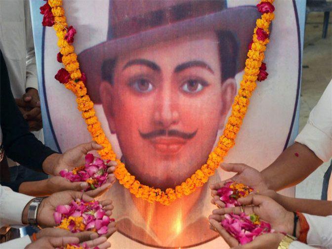 Pakistan displays Bhagat Singh