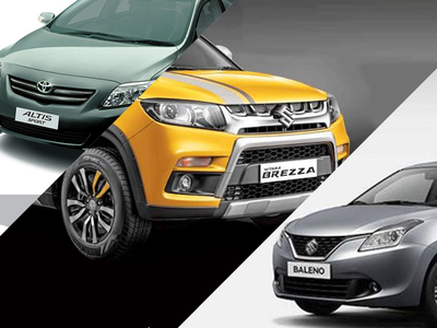 By 2019, buy tweaked Brezza and Baleno from Toyota, and Corolla from Maruti