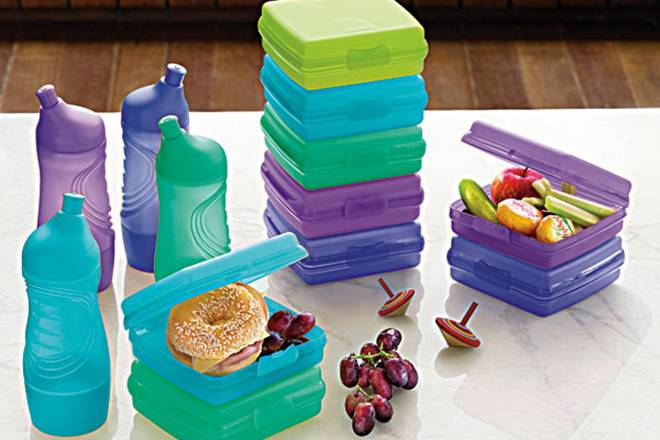 Tupperware containers to help improve NASA astronauts' diet by providing fresh food in space