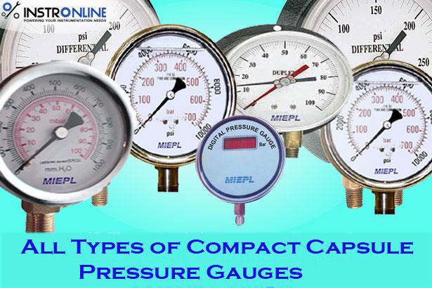 Different Types of Pressure Gauges