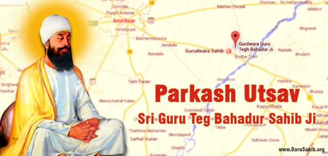 Prakash Utsav – Sri Guru Teg Bahadur Sahib Ji
