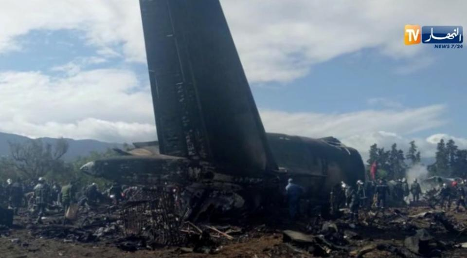 More than 250 dead in Algerian military plane crash: Reports