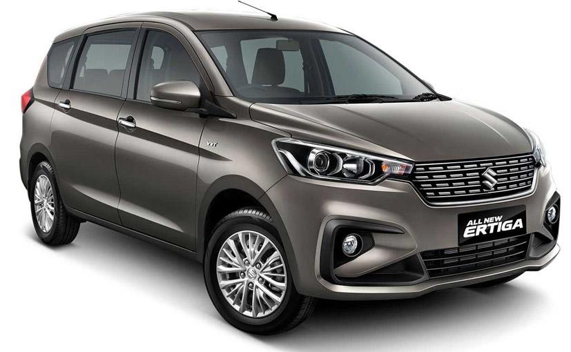 India-Bound Suzuki Ertiga Unveiled At Indonesia Motor Show 2018
