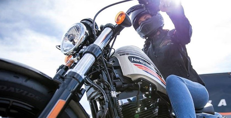 Get paid to ride a Harley Davidson, and get the bike for yourself