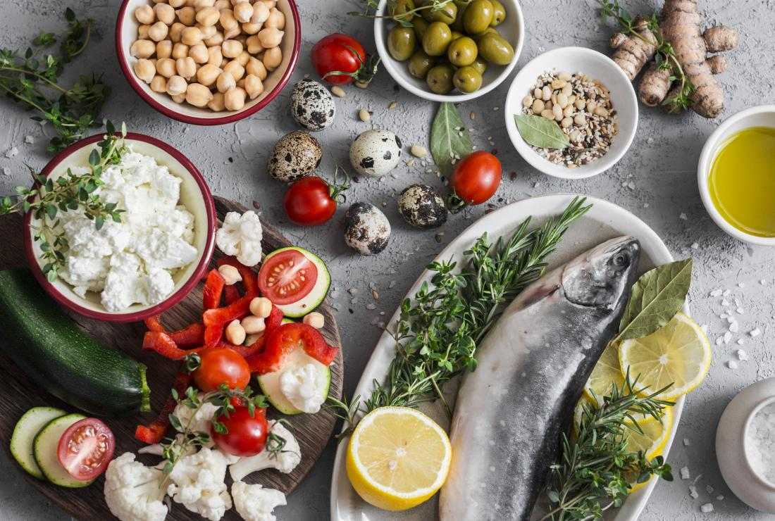 Mediterranean diet increases