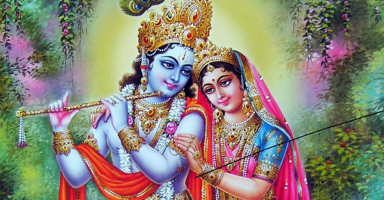 Why is Radha Worship with Krishna instead of Rukmini?
