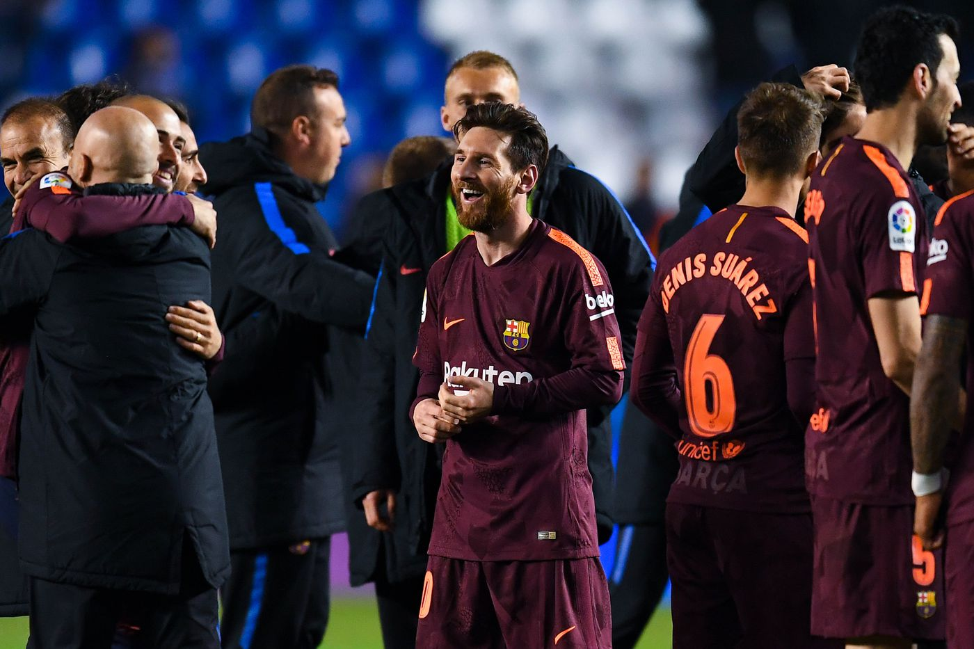 Lionel Messi tells Barcelona to appreciate, enjoy and celebrate La Liga success