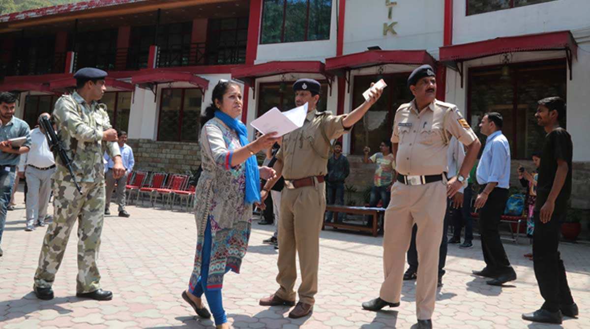 Woman officer heading SC-ordered demolition drive shot dead by hotel owner in Kasauli, accused on the run