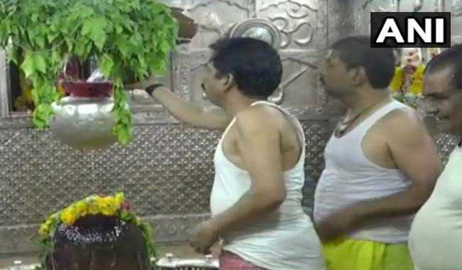 RO Water For Worship At A Temple In Madhya Pradesh