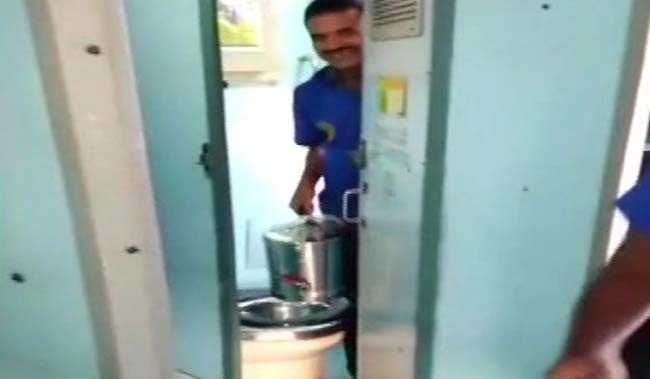 Video Suggests Water From Train Toilet Used In Tea Cans, Vendor Fined