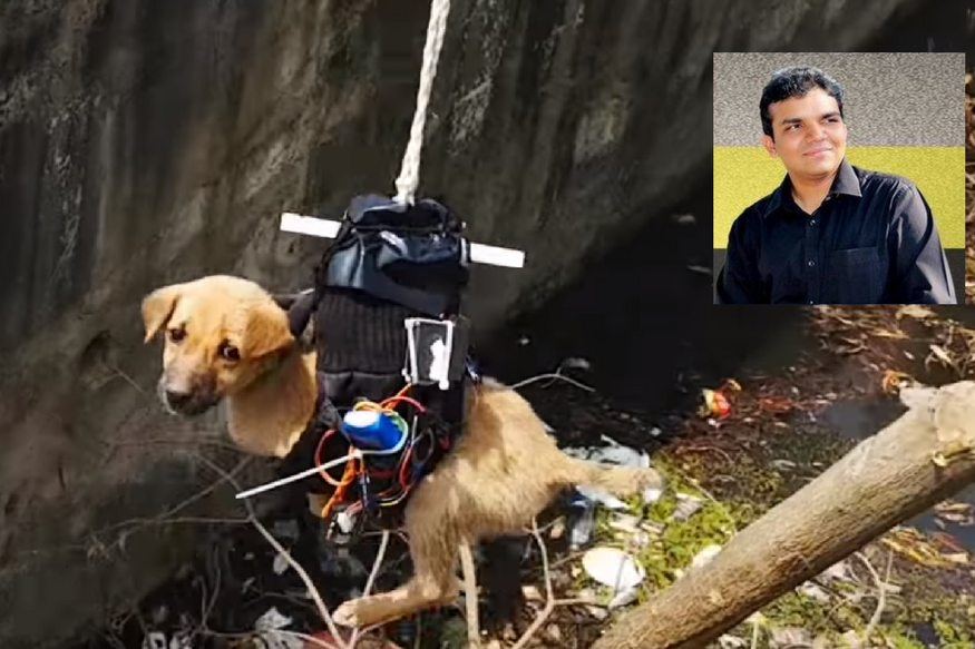 Meet the Lucknow Man Who Built a Drone to Rescue a Stranded Puppy