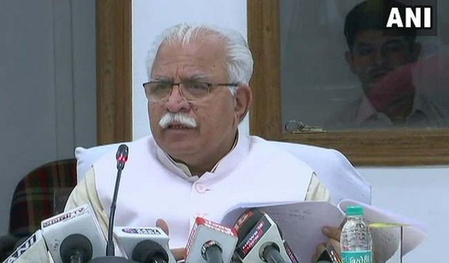 "On Namaz Row Haryana Chief Minister Khattar Clarifies, ""Haven"