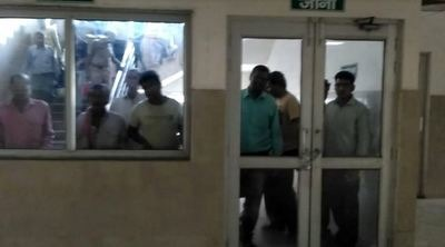 Ahead of UP CM's visit, patients, kin locked up at Agra hospital