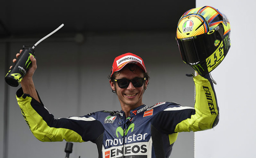 MotoGP: Valentino Rossi Completes A Lap Of The World