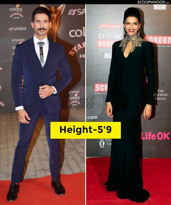 18 Bollywood Pairs Whose Real Height Will Definitely Surprise You