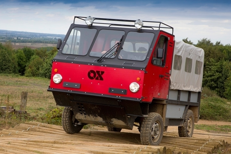 Just Like IKEA Furniture, The OX Truck Can Flat-Pack During Shipping