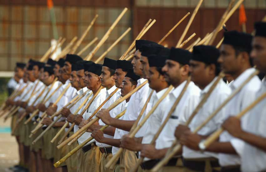 Gyms on Panchayat Land in Haryana to be Used for RSS