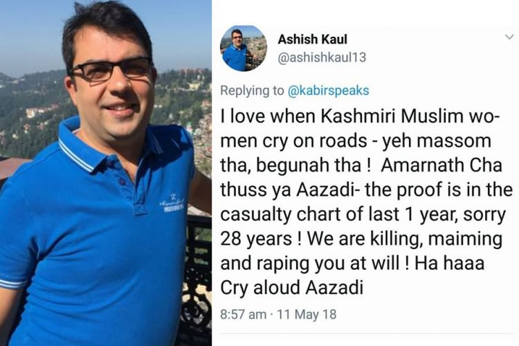 Employee Loses Job For Making Hate-Mongering Twitter Post On Kashmiri Women