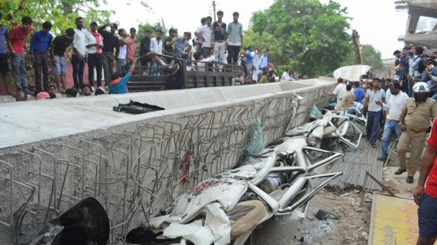 Flyover collapse in Varanasi was a natural disaster: Senior UP Bridge Corp official