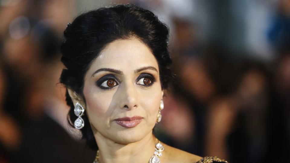 Sridevi honoured at Cannes, Subhash Ghai accepts honour on her family's behalf