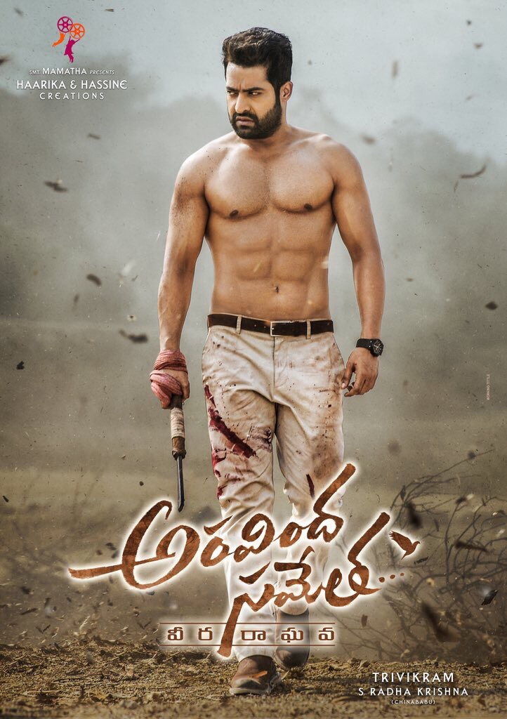 NTR stuns with ripped avatar in Aravinda Sametha…