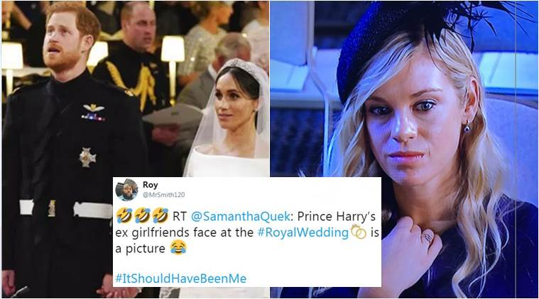 Royal Wedding 2018: Prince Harry's ex-girlfriend's expression takes Twitterati on a laughter ride