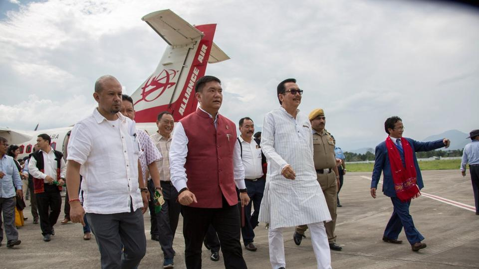 Arunachal gets its first airline flight, CM Khandu among 25 passengers