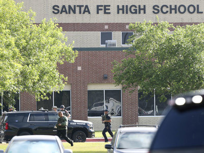 At least 10 killed in Texas high school shooting, Sheriff says