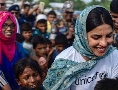 Trolling Priyanka Chopra for visiting Rohingya camp is deplorable