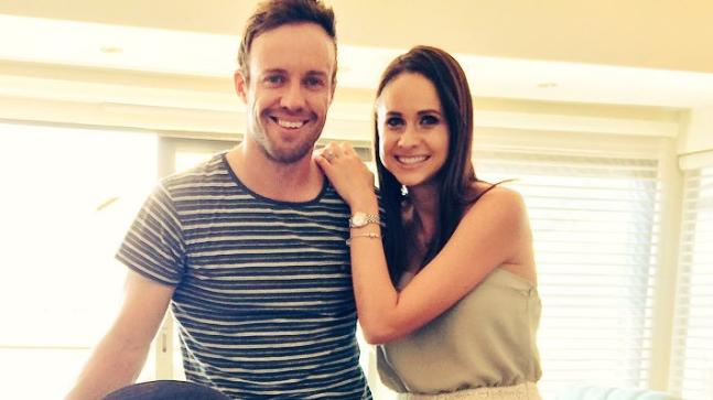 What did Virat Kohli tell AB de Villiers after he proposed to Danielle?