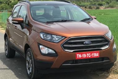 2018 Ford EcoSport S - Detailed Image Gallery