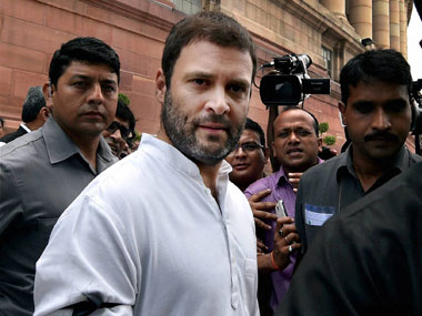 Rahul Gandhi targets proposed UPSC