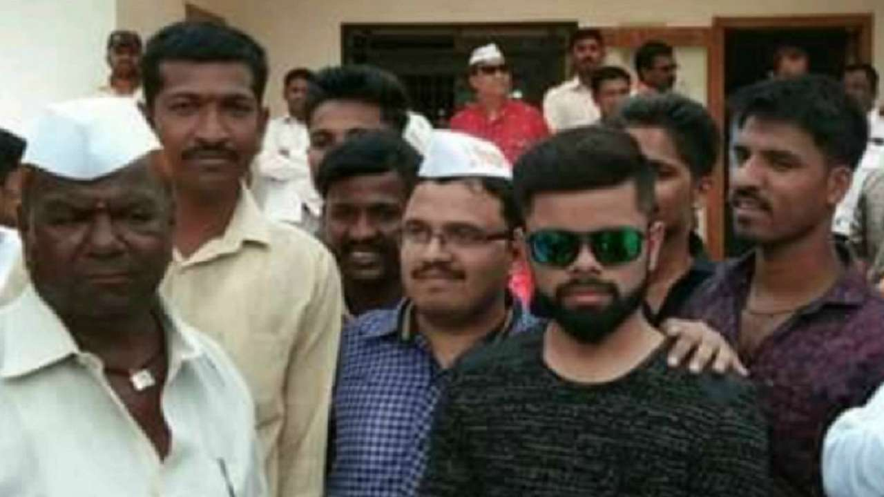 Maharashtra: Candidate contesting local poll promises Virat Kohli as chief guest, brings look-alike