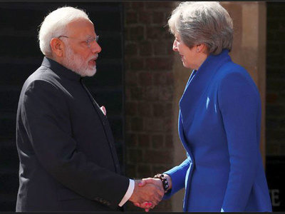 When PM Modi gave stern message to Theresa May